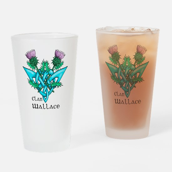 Wallace Two Thistles Drinking Glass