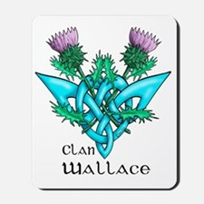 Wallace Two Thistles Mousepad