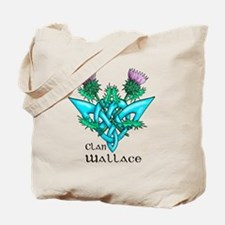 Wallace Two Thistles Tote Bag