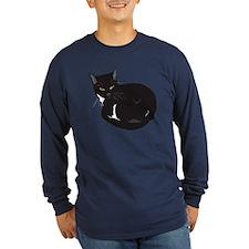 Tuxedo Cat Resting T-shir T