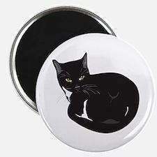 Tuxedo Cat Resting T-shirt Magnet