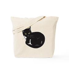 Tuxedo Cat Resting T-shirt Tote Bag