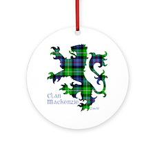 Lion MacKenzie Round Ornament