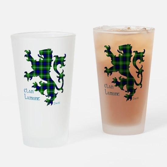 Lion Lamont Drinking Glass