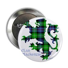 "Lion MacKenzie 2.25"" Button"