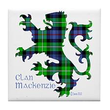 Lion MacKenzie Tile Coaster