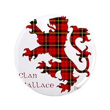 "lion Wallace 3.5"" Button"