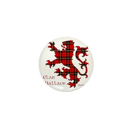 lion Wallace Mini Button