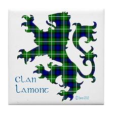 Lion Lamont Tile Coaster