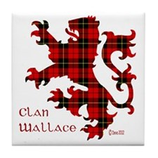 lion Wallace Tile Coaster