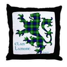 Lion Lamont Throw Pillow