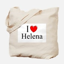 """""""I Love Helena"""" Tote Bag"""