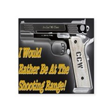 "shooting_range_reverse Square Sticker 3"" x 3"""