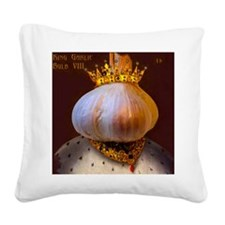 Garlic Lovers Square Canvas Pillow