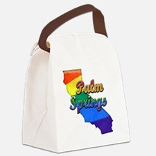 Palm Springs Canvas Lunch Bag