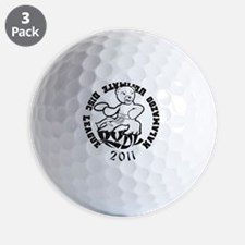 kudl_one_color_2011 Golf Ball