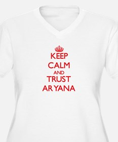 Keep Calm and TRUST Aryana Plus Size T-Shirt
