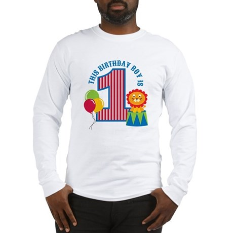 Circus1stBirthday Long Sleeve T-Shirt