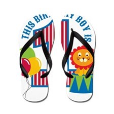 Circus1stBirthday Flip Flops