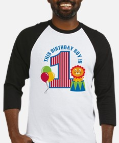 Circus1stBirthday Baseball Jersey