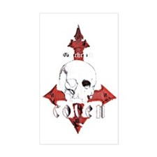 000 skull logo 69MASTERxFINAL  Decal