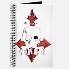 000 skull logo 69MASTERxFINAL BLK ERASED Journal
