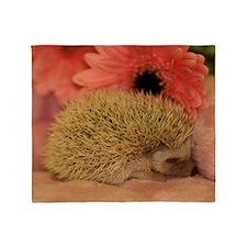 baby_hedgehog_1 Throw Blanket