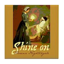 Florence Nightingale Student Nurse Tile Coaster