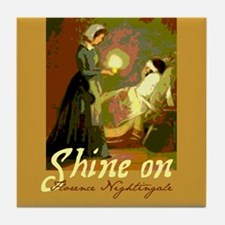 Florence Nightingale Student Nurse Tile Coaster