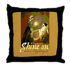 Florence Nightingale Student Nurse Throw Pillow