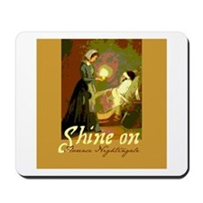 Florence Nightingale Student Nurse Mousepad