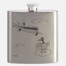 3159_bird_cartoon Flask