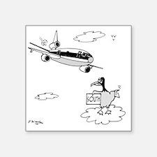 "3159_bird_cartoon Square Sticker 3"" x 3"""