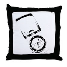 Compass direction Throw Pillow