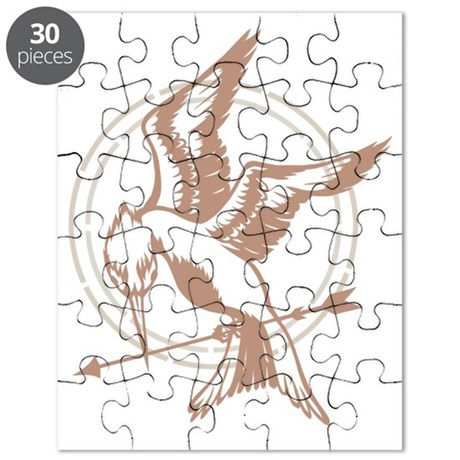 Mockingjay Art Puzzle