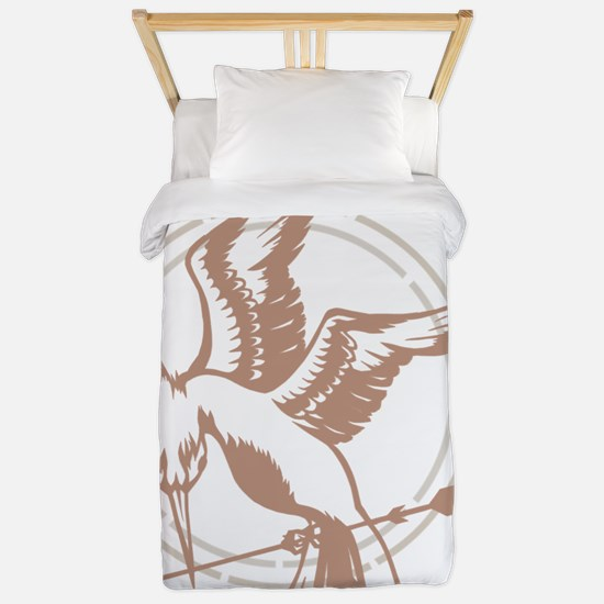 Mockingjay Art Twin Duvet