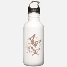 Mockingjay Art Sports Water Bottle