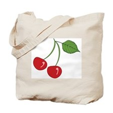 Retro Cherry Tote Bag