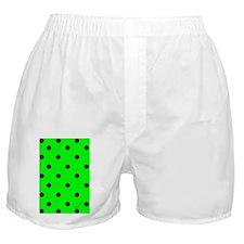 nooksleevegrnpolkadotpng Boxer Shorts