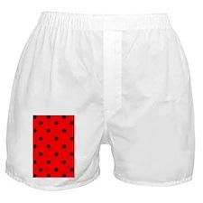 nooksleeveredpolkadotpng Boxer Shorts