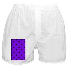nooksleevepurppolkadotpng Boxer Shorts
