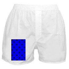 nooksleevebluepolkadotpng Boxer Shorts