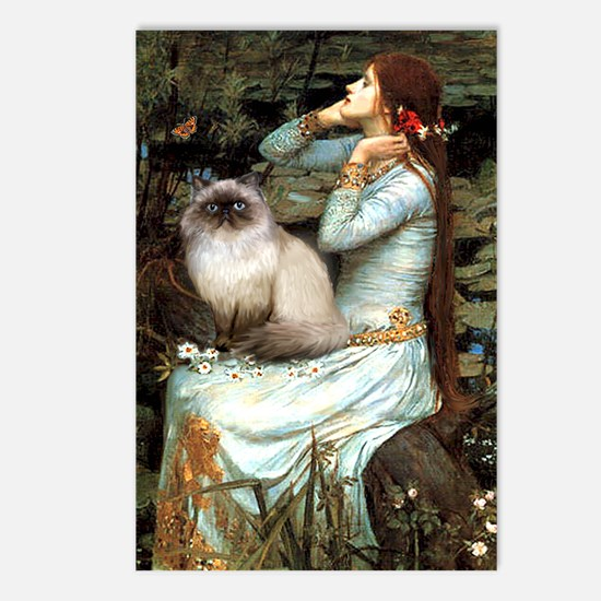 Ophelia & Himalayan Postcards (Package of 8)