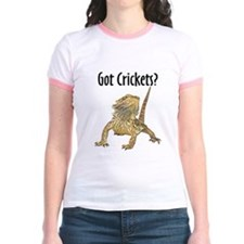 Bearded Dragon Got Crickets T