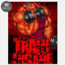 TRAININSANE_portrait Puzzle