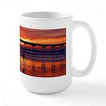 Sunset Shore Large Mug