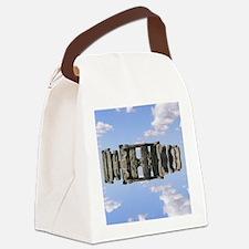 Flying Stonehenge – 3 Canvas Lunch Bag