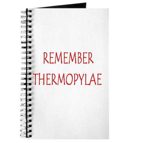 thermopylae Journal