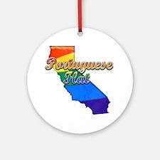 Portuguese Flat Round Ornament