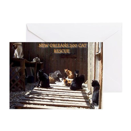 New Orleans 200 (2) Greeting Cards (Pk of 10)